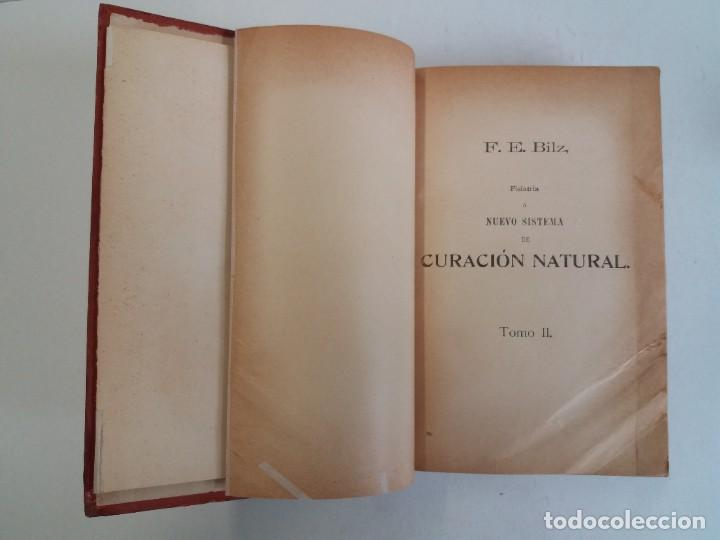 Libros antiguos: ATRACTIVO LIBRO METODO DE MEDICINA NATURAL MÁS DE 120 AÑOS MODERNISTA - Foto 34 - 245311370