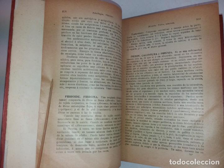 Libros antiguos: ATRACTIVO LIBRO METODO DE MEDICINA NATURAL MÁS DE 120 AÑOS MODERNISTA - Foto 35 - 245311370