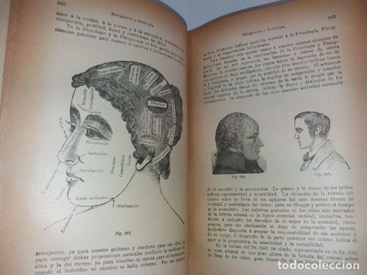 Libros antiguos: ATRACTIVO LIBRO METODO DE MEDICINA NATURAL MÁS DE 120 AÑOS MODERNISTA - Foto 37 - 245311370