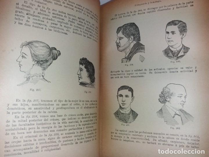 Libros antiguos: ATRACTIVO LIBRO METODO DE MEDICINA NATURAL MÁS DE 120 AÑOS MODERNISTA - Foto 39 - 245311370