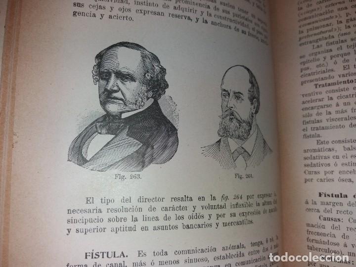 Libros antiguos: ATRACTIVO LIBRO METODO DE MEDICINA NATURAL MÁS DE 120 AÑOS MODERNISTA - Foto 40 - 245311370