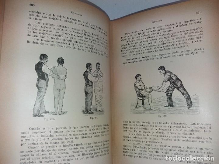 Libros antiguos: ATRACTIVO LIBRO METODO DE MEDICINA NATURAL MÁS DE 120 AÑOS MODERNISTA - Foto 42 - 245311370