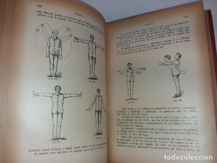 Libros antiguos: ATRACTIVO LIBRO METODO DE MEDICINA NATURAL MÁS DE 120 AÑOS MODERNISTA - Foto 47 - 245311370