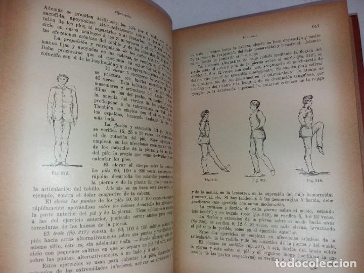 Libros antiguos: ATRACTIVO LIBRO METODO DE MEDICINA NATURAL MÁS DE 120 AÑOS MODERNISTA - Foto 49 - 245311370
