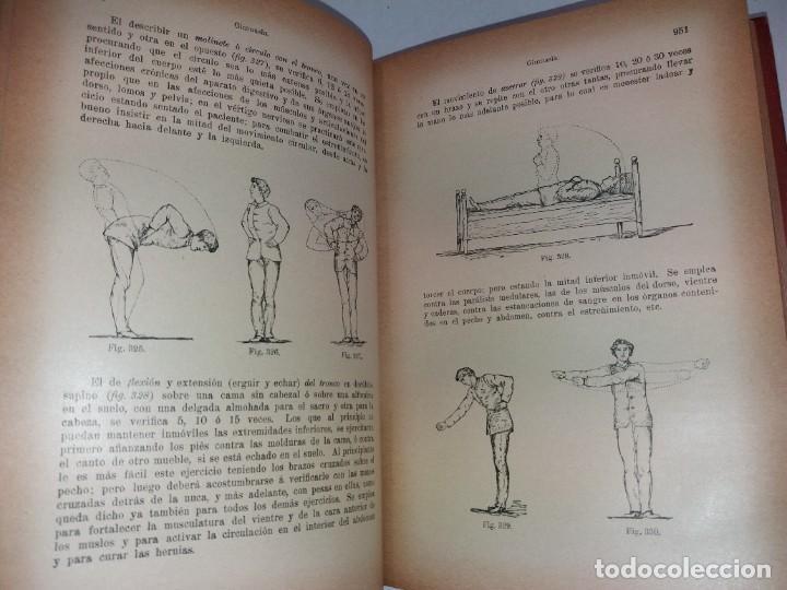 Libros antiguos: ATRACTIVO LIBRO METODO DE MEDICINA NATURAL MÁS DE 120 AÑOS MODERNISTA - Foto 51 - 245311370