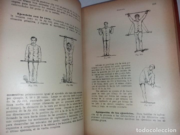 Libros antiguos: ATRACTIVO LIBRO METODO DE MEDICINA NATURAL MÁS DE 120 AÑOS MODERNISTA - Foto 52 - 245311370