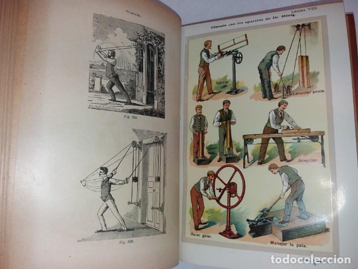 Libros antiguos: ATRACTIVO LIBRO METODO DE MEDICINA NATURAL MÁS DE 120 AÑOS MODERNISTA - Foto 53 - 245311370
