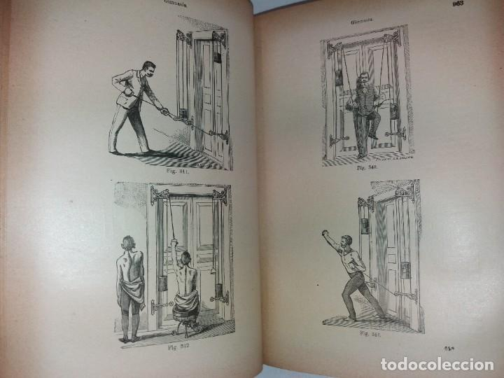 Libros antiguos: ATRACTIVO LIBRO METODO DE MEDICINA NATURAL MÁS DE 120 AÑOS MODERNISTA - Foto 54 - 245311370