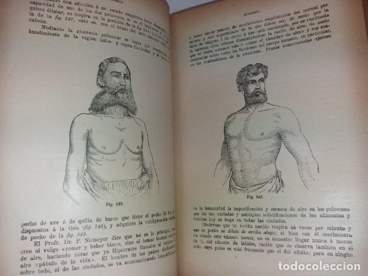 Libros antiguos: ATRACTIVO LIBRO METODO DE MEDICINA NATURAL MÁS DE 120 AÑOS MODERNISTA - Foto 55 - 245311370