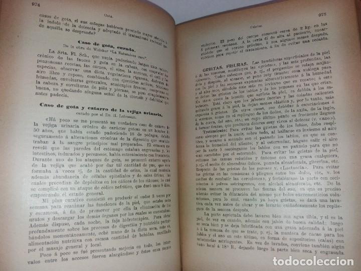 Libros antiguos: ATRACTIVO LIBRO METODO DE MEDICINA NATURAL MÁS DE 120 AÑOS MODERNISTA - Foto 57 - 245311370