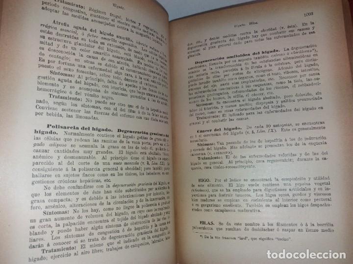 Libros antiguos: ATRACTIVO LIBRO METODO DE MEDICINA NATURAL MÁS DE 120 AÑOS MODERNISTA - Foto 59 - 245311370