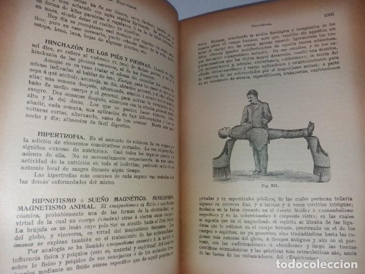 Libros antiguos: ATRACTIVO LIBRO METODO DE MEDICINA NATURAL MÁS DE 120 AÑOS MODERNISTA - Foto 60 - 245311370