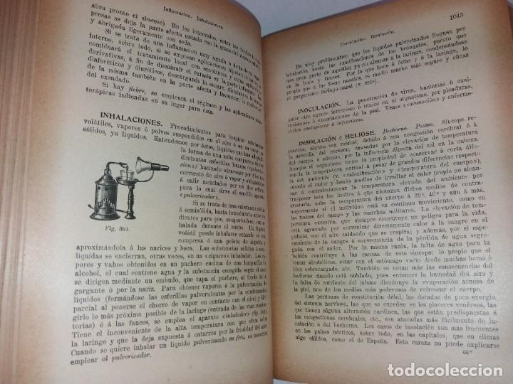 Libros antiguos: ATRACTIVO LIBRO METODO DE MEDICINA NATURAL MÁS DE 120 AÑOS MODERNISTA - Foto 62 - 245311370