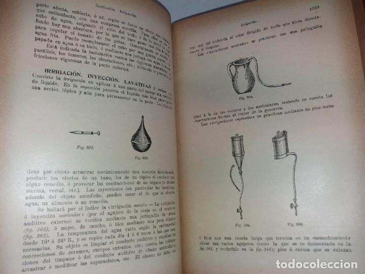 Libros antiguos: ATRACTIVO LIBRO METODO DE MEDICINA NATURAL MÁS DE 120 AÑOS MODERNISTA - Foto 63 - 245311370