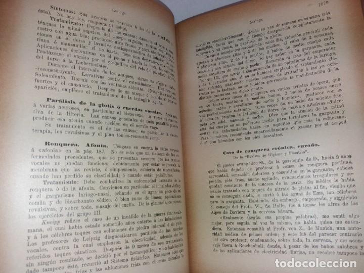 Libros antiguos: ATRACTIVO LIBRO METODO DE MEDICINA NATURAL MÁS DE 120 AÑOS MODERNISTA - Foto 65 - 245311370