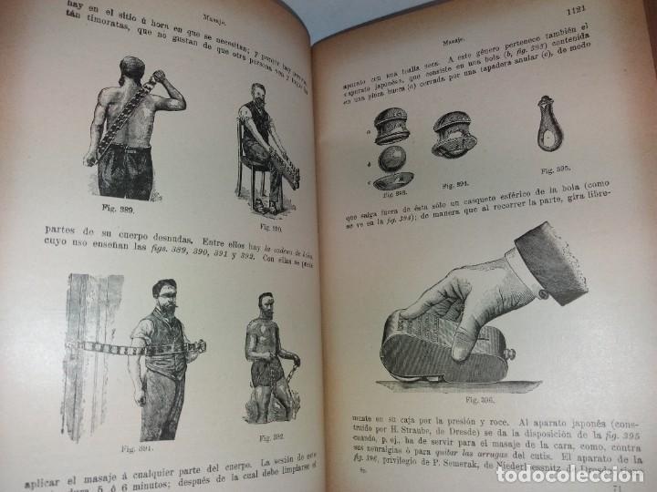 Libros antiguos: ATRACTIVO LIBRO METODO DE MEDICINA NATURAL MÁS DE 120 AÑOS MODERNISTA - Foto 67 - 245311370
