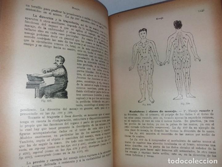 Libros antiguos: ATRACTIVO LIBRO METODO DE MEDICINA NATURAL MÁS DE 120 AÑOS MODERNISTA - Foto 68 - 245311370