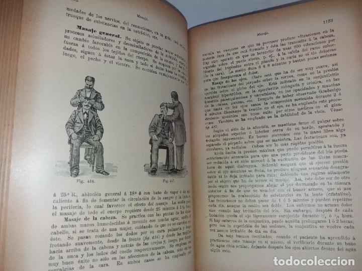 Libros antiguos: ATRACTIVO LIBRO METODO DE MEDICINA NATURAL MÁS DE 120 AÑOS MODERNISTA - Foto 72 - 245311370