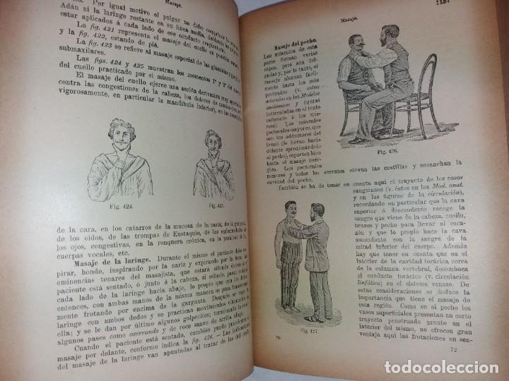 Libros antiguos: ATRACTIVO LIBRO METODO DE MEDICINA NATURAL MÁS DE 120 AÑOS MODERNISTA - Foto 74 - 245311370
