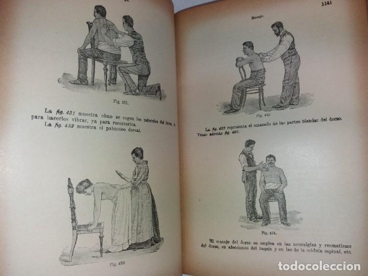 Libros antiguos: ATRACTIVO LIBRO METODO DE MEDICINA NATURAL MÁS DE 120 AÑOS MODERNISTA - Foto 76 - 245311370
