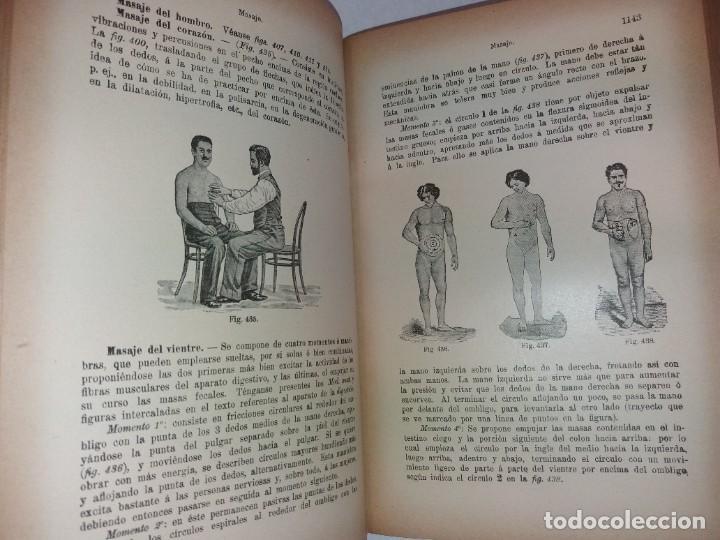 Libros antiguos: ATRACTIVO LIBRO METODO DE MEDICINA NATURAL MÁS DE 120 AÑOS MODERNISTA - Foto 77 - 245311370