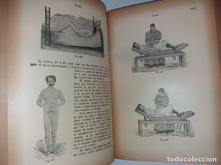 Libros antiguos: ATRACTIVO LIBRO METODO DE MEDICINA NATURAL MÁS DE 120 AÑOS MODERNISTA - Foto 78 - 245311370
