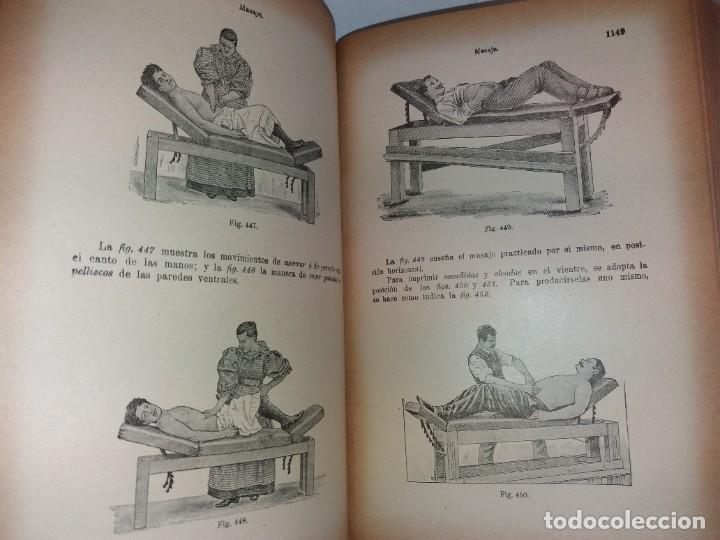 Libros antiguos: ATRACTIVO LIBRO METODO DE MEDICINA NATURAL MÁS DE 120 AÑOS MODERNISTA - Foto 80 - 245311370