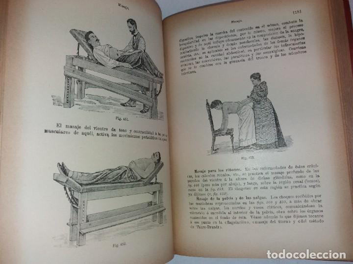 Libros antiguos: ATRACTIVO LIBRO METODO DE MEDICINA NATURAL MÁS DE 120 AÑOS MODERNISTA - Foto 81 - 245311370