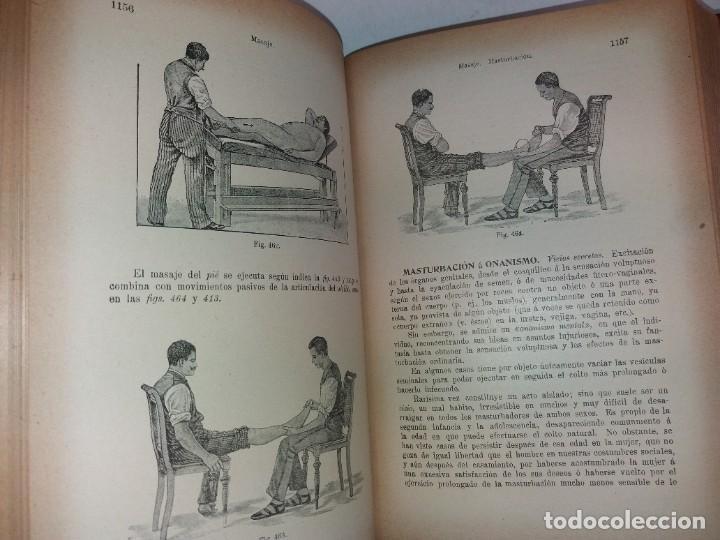 Libros antiguos: ATRACTIVO LIBRO METODO DE MEDICINA NATURAL MÁS DE 120 AÑOS MODERNISTA - Foto 84 - 245311370