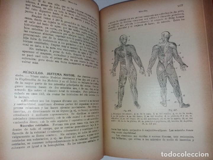 Libros antiguos: ATRACTIVO LIBRO METODO DE MEDICINA NATURAL MÁS DE 120 AÑOS MODERNISTA - Foto 85 - 245311370