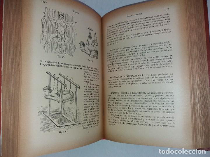 Libros antiguos: ATRACTIVO LIBRO METODO DE MEDICINA NATURAL MÁS DE 120 AÑOS MODERNISTA - Foto 88 - 245311370