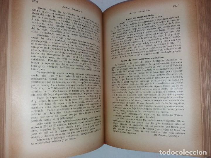 Libros antiguos: ATRACTIVO LIBRO METODO DE MEDICINA NATURAL MÁS DE 120 AÑOS MODERNISTA - Foto 91 - 245311370