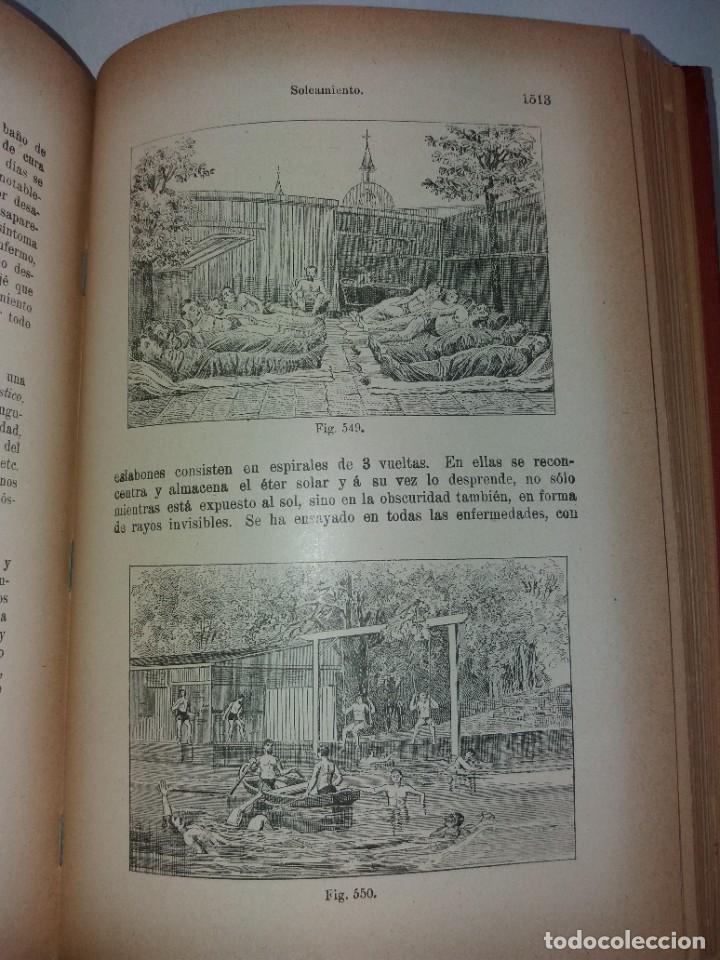 Libros antiguos: ATRACTIVO LIBRO METODO DE MEDICINA NATURAL MÁS DE 120 AÑOS MODERNISTA - Foto 106 - 245311370