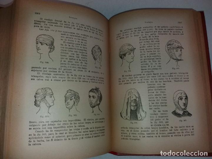 Libros antiguos: ATRACTIVO LIBRO METODO DE MEDICINA NATURAL MÁS DE 120 AÑOS MODERNISTA - Foto 108 - 245311370