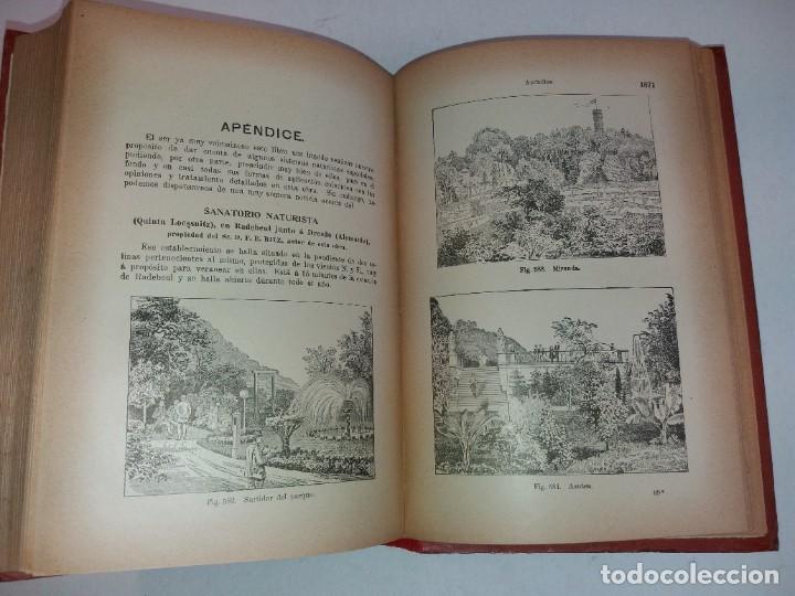 Libros antiguos: ATRACTIVO LIBRO METODO DE MEDICINA NATURAL MÁS DE 120 AÑOS MODERNISTA - Foto 110 - 245311370
