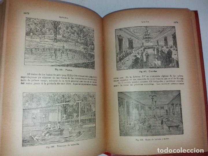 Libros antiguos: ATRACTIVO LIBRO METODO DE MEDICINA NATURAL MÁS DE 120 AÑOS MODERNISTA - Foto 111 - 245311370