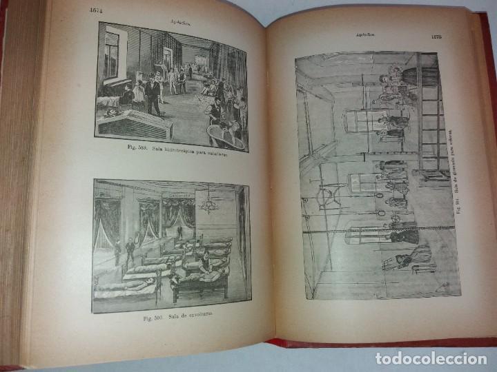 Libros antiguos: ATRACTIVO LIBRO METODO DE MEDICINA NATURAL MÁS DE 120 AÑOS MODERNISTA - Foto 112 - 245311370