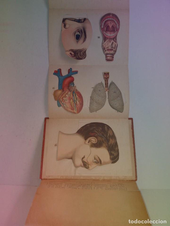 Libros antiguos: ATRACTIVO LIBRO METODO DE MEDICINA NATURAL MÁS DE 120 AÑOS MODERNISTA - Foto 119 - 245311370