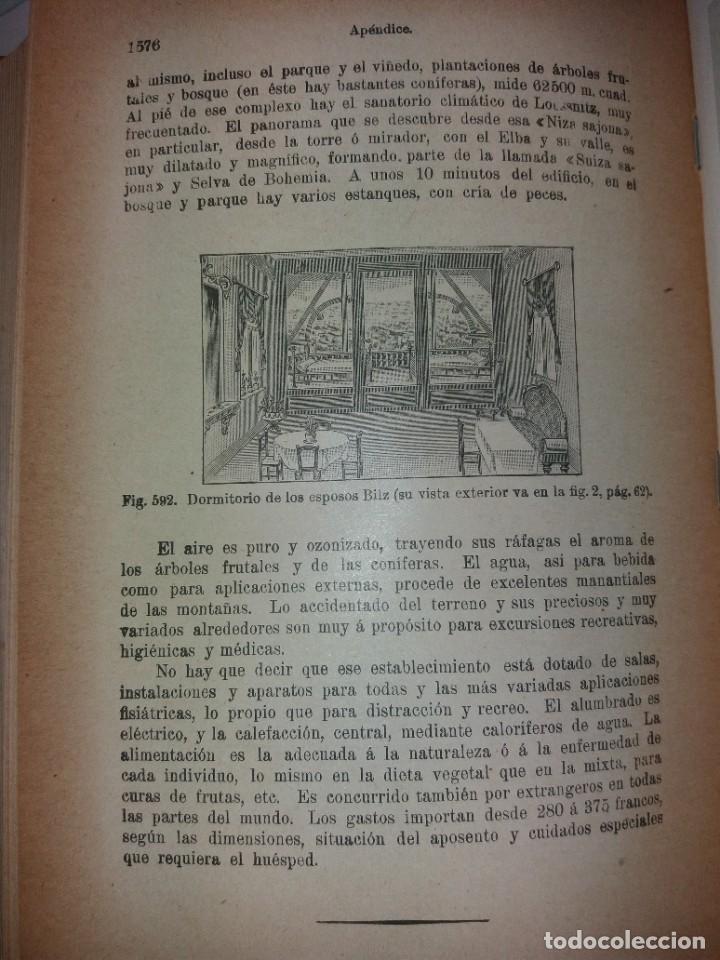 Libros antiguos: ATRACTIVO LIBRO METODO DE MEDICINA NATURAL MÁS DE 120 AÑOS MODERNISTA - Foto 121 - 245311370