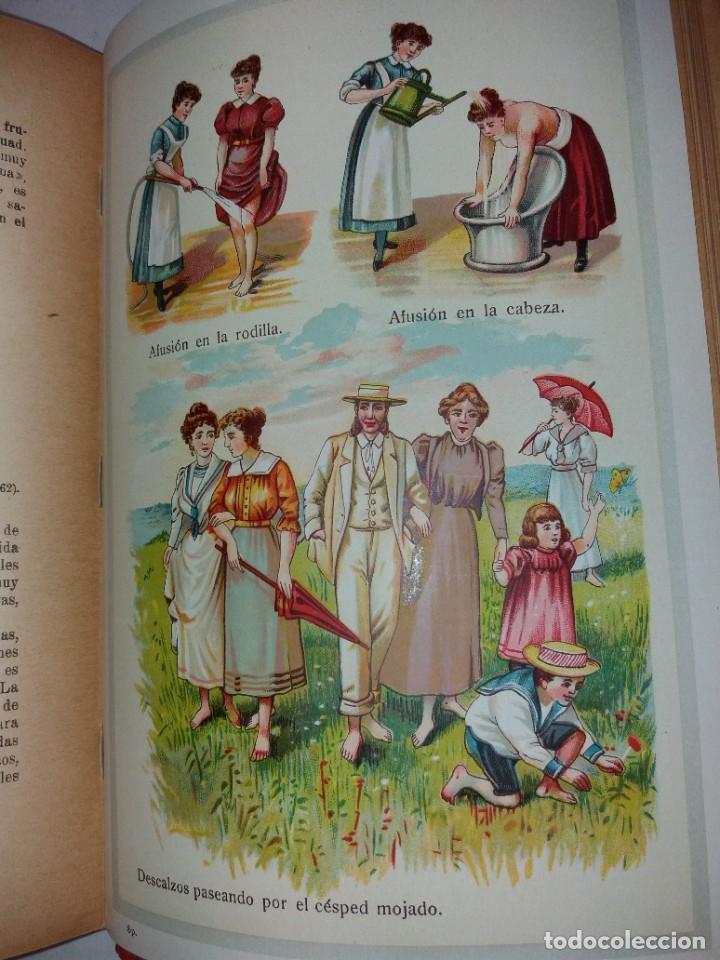 Libros antiguos: ATRACTIVO LIBRO METODO DE MEDICINA NATURAL MÁS DE 120 AÑOS MODERNISTA - Foto 122 - 245311370