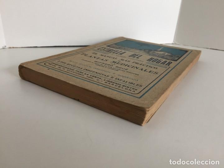 Libros antiguos: ESTRELLA DEL HOGAR. ILUSTRADA. MANUAL PRÁCTICO DE PLANTAS MEDICINALES. WIFREDO BOUÉ. 3000 RECETAS. - Foto 4 - 245359020