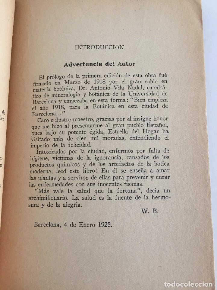 Libros antiguos: ESTRELLA DEL HOGAR. ILUSTRADA. MANUAL PRÁCTICO DE PLANTAS MEDICINALES. WIFREDO BOUÉ. 3000 RECETAS. - Foto 9 - 245359020