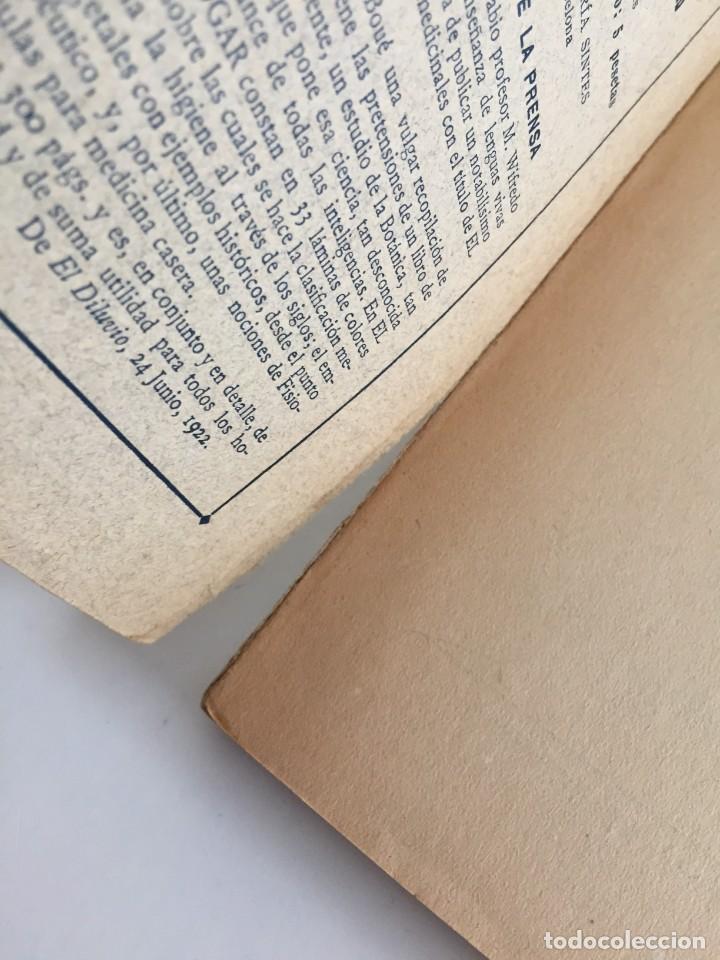 Libros antiguos: ESTRELLA DEL HOGAR. ILUSTRADA. MANUAL PRÁCTICO DE PLANTAS MEDICINALES. WIFREDO BOUÉ. 3000 RECETAS. - Foto 10 - 245359020