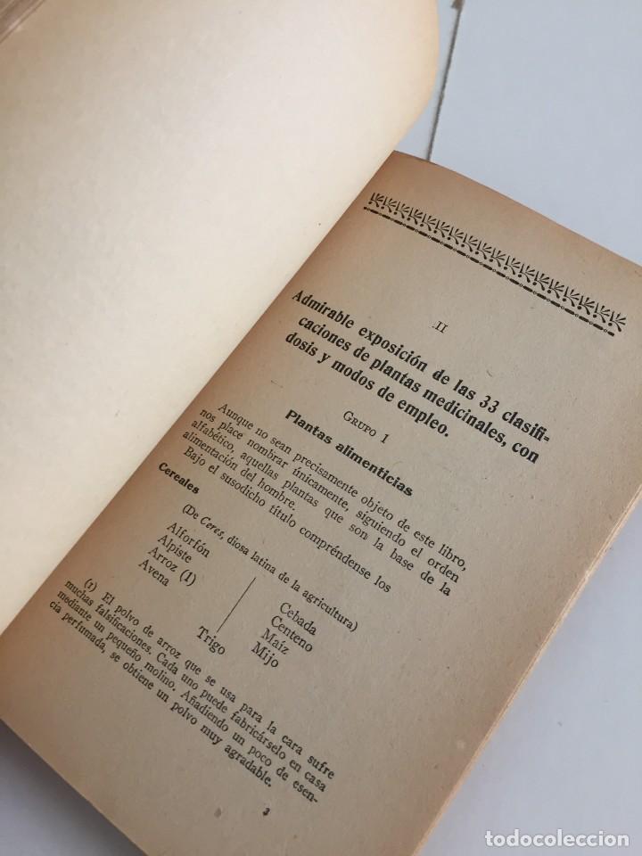 Libros antiguos: ESTRELLA DEL HOGAR. ILUSTRADA. MANUAL PRÁCTICO DE PLANTAS MEDICINALES. WIFREDO BOUÉ. 3000 RECETAS. - Foto 11 - 245359020