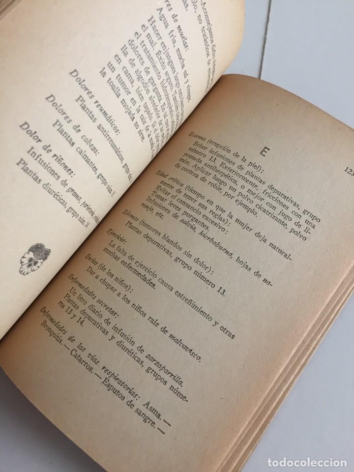 Libros antiguos: ESTRELLA DEL HOGAR. ILUSTRADA. MANUAL PRÁCTICO DE PLANTAS MEDICINALES. WIFREDO BOUÉ. 3000 RECETAS. - Foto 12 - 245359020