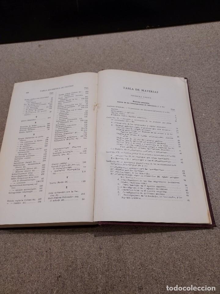 Libros antiguos: MEDICINA....EL LABORATORIO MODERNO DEL MÉDICO PRÁCTICO.....1933. - Foto 6 - 245388395