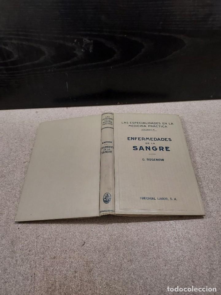 Libros antiguos: MEDICINA....ENFERMEDADES DE LA SANGRE....G.ROSENOW...1927....... - Foto 2 - 245436995