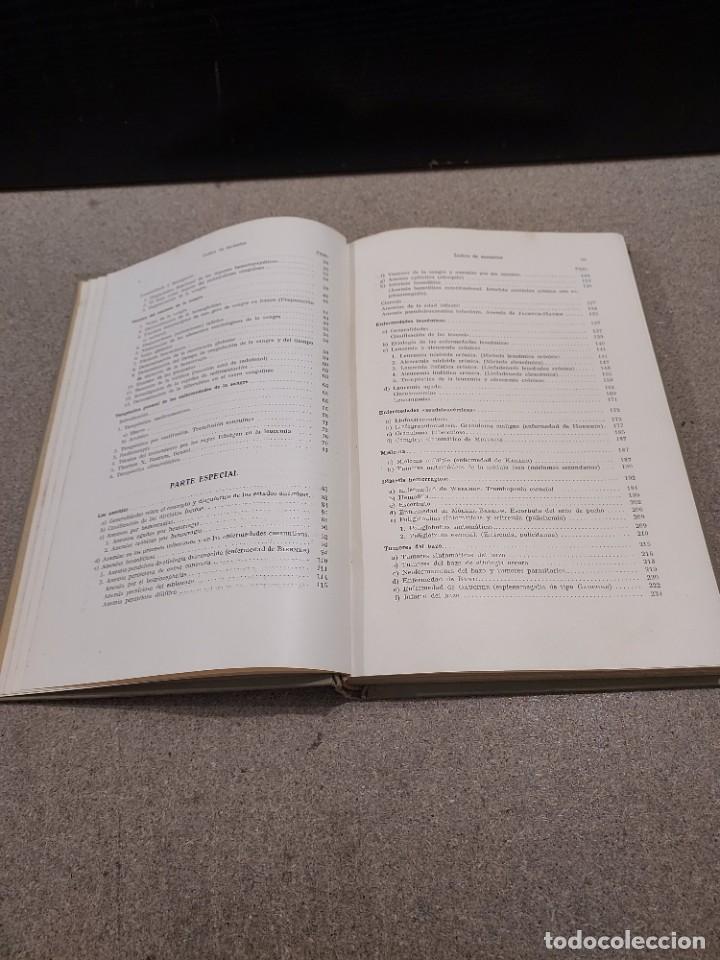 Libros antiguos: MEDICINA....ENFERMEDADES DE LA SANGRE....G.ROSENOW...1927....... - Foto 6 - 245436995