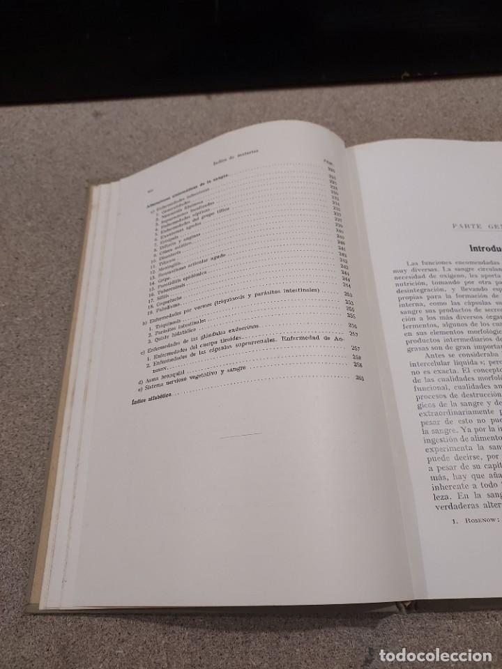 Libros antiguos: MEDICINA....ENFERMEDADES DE LA SANGRE....G.ROSENOW...1927....... - Foto 7 - 245436995