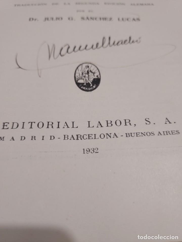 Libros antiguos: MEDICINA...TRATAMIENTO DE LAS ENFERMEDADES INTERNAS....1932....... - Foto 4 - 245439440